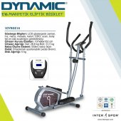Dynamic E16 Manyetik Eliptik Kondisyon Bisikleti (Renk Seçiniz)-12