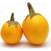 Eko Paket 50 Tohum İthal Thailand Sarı Dolmalık Patlıcan Tohumu