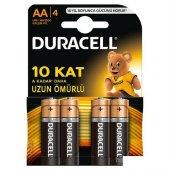 Duracell Alkalin Kalem Pil (Aa) 4 Lü 2a4 (4 Lü...
