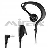 Mirax Pmr Telsiz Kulaklığı, Mikrofonlu, 2,5mm...