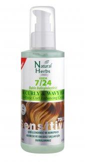 Natural Herbs 7 24 Krem Bukle Belirginleştirici Saçta Kalan Krem
