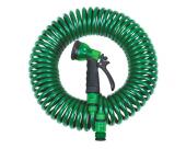 4 Fonksiyonlu Sulama Tabancalı Spiral Hortum Seti (30 Metre)-4