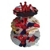 Spiderman Cupcake Kek Standı