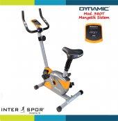 Dynamic 380 Manyetik Kondisyon Bisikleti  (Turuncu Gri)-4