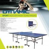 Dynamic Sport İndoor Masa Tenisi Masası - Ağdemir Set ve 2 Raket 3 Top Hediyeli - Kolay Kurulum-2