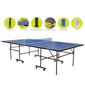 Dynamic Sport İndoor Masa Tenisi Masası - Ağdemir Set ve 2 Raket 3 Top Hediyeli - Kolay Kurulum-3