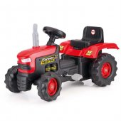 Dolu Pedallı Kırmızı Traktör-2