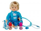 Cicciobello Çok Hastayım Oyuncak Bebek ve Doktor Seti-2