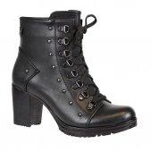 Nstep 3051 Zn Termal Topuklu Kışlık Bayan Bot Ayakkabı