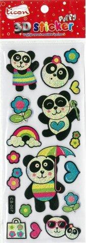 Ticon 3d Sticker Puffy 177574 (Kabartmalı) 3d 3