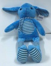 30cm Pijamalı Mavi Tavşan Peluş...