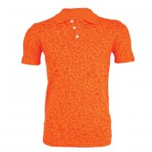4006 Polo Yaka Turuncu Kısa Kol T-Shirt L