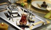 Islamoğlu Hürrem Gold Çay Tepsi