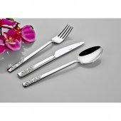 Inter Çelik Safir Yemek Çatalı 12 Adet