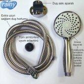 Diamond Rainy 3 Fonksiyonlu Mafsallı Duş Seti Duş Başlığı Spiral