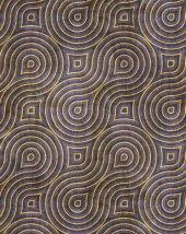 RugRita Geometrik Halka desenli Kaydırmaz Taban halı-2