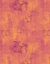 RugRita Kelebek desenli Kaydırmaz Taban halı-2