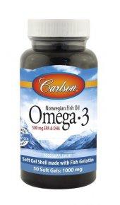 Carlson Omega3 Balık Yağı 1000mg 50 Kapsül