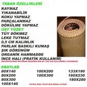 PATCHWORK HALI KAYMAZ TABAN KAHVERENGİ BASKI HALI-İ-P16 180X280-2