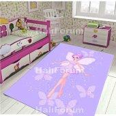3d Çocuk Halısı Modelleri Kaymaz Antialerjik Doğuş 3d008 100x140