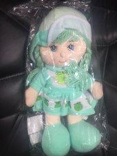 Peluş Bebek Yeşil Geleneksel Elbiseli