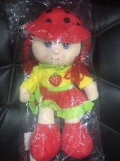 Peluş Bebek - Kırmızı Geleneksel Elbiseli