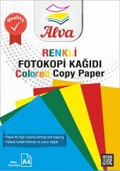 Renkli Fotokopi Kağıdı 100' Lü