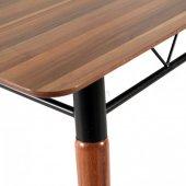 Evform 4 Sandalyeli Karışık Renkli Mutfak Salon Yemek Masa Takımı-6