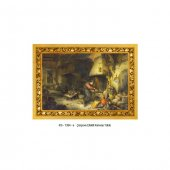 Adriaen Van Ostade - An Alchemist 50x70 cm-4