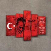 Atatürk 32 Kanvas Tablo 135x85 Cm