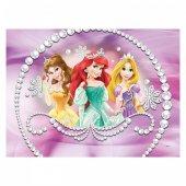 Prensesler 50x70 Cm Kanvas Tablo