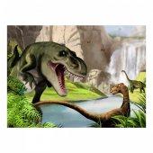 Dinozor Kanvas Tablo 50x70 cm