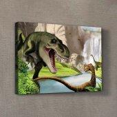 Dinozor Kanvas Tablo 50x70 cm-2