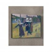 Breton Girls Dancing, Pont-Aven 50x70 cm-2