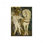 Diego Rivera - Agrarian Leader Zapata 50x70 cm