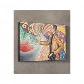 Paul Signac-Against the Enamel of a Background Rhythmic  50x7o Kanvas-2