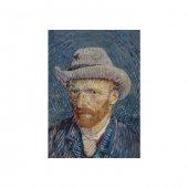 Self Portrait With Grey Felt Hat 50x70