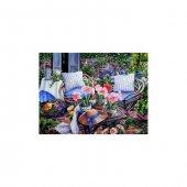 Garden Cottage Kanvas Tablo 50x70 Cm