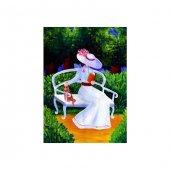 Lady Kanvas Tablo 50x70 Cm
