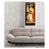 Royal Woman Kanvas Tablo 40x120 Cm-3
