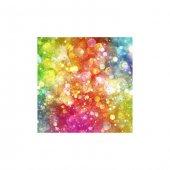 Renkli Hayaller Bulaşık Makinesi Sticker