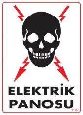 Elektrik Panosu Uyarı Levhası 25x35 Kod 1107