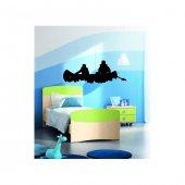 Paddle Kadife Duvar Sticker 127x46 Cm