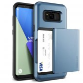VRS Design Samsung Galaxy S8 Plus Damda Glide Kılıf Blue Coral