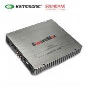 Soundmax Sx 4600 2600w 4 Kanallı Köprülenebilir...