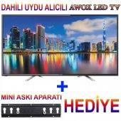 Awox Awx3282str 32 İnch 200 Hz Uydulu Led Tv 2018 Model+askı Apar
