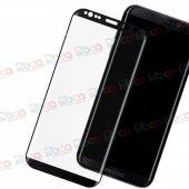 Samsung Galaxy S9+ Plus Ekranı Tam Kapatan Kırılmaz Cam-3