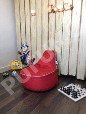 Pufumo Twingo Çocuk Armut Koltuk Kırmızı