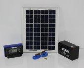 Mini Güneş Paneli Seti(Aydınlatma)