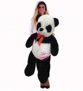 Peluş Oyuncak Panda 100 Cm 1 Metre Büyük Boy Sarılmalık Peluş Panda Bayana Hediye